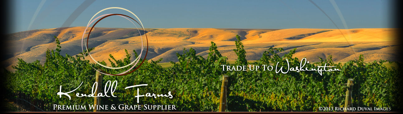 Kendall Farms Wine Grape Broker of Washington grapes and wines